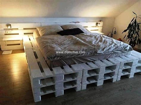 diy pallet bunk bed diy ideas for wood pallet beds diy motive