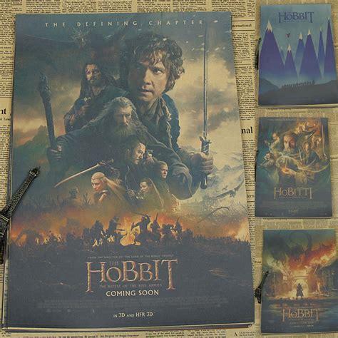 aliexpress buy hobbit series 3 poster five armies