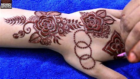 henna tattoo gulf shores gulf flower henna mehndi design step by step