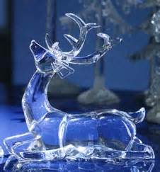 icy acrylic lighted christmas and winter accessories at
