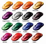 Custom Candy Car Paint ColorsCandy Pearls  Buy