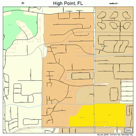 High Point Detox South Florida by High Point Florida Map 1230497