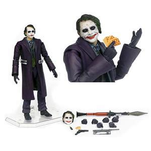 Ngmv3 Figure Joker Batman The Ledger Version Set 5 dc comics batman mafex joker miracle figure