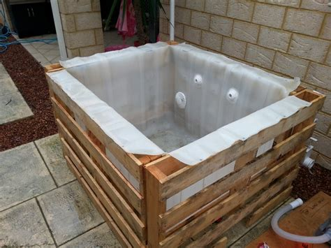 plunge bathtub learn how to build a plunge pool with pallets and an ibc