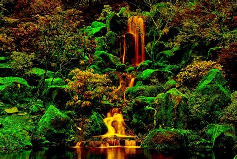 garden falls garden falls wallpaper nature and landscape wallpaper