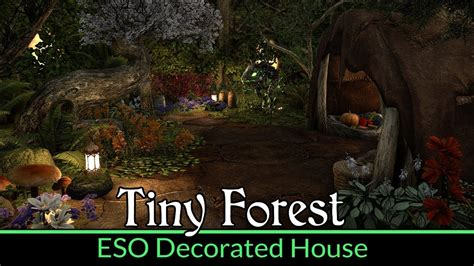 serenity now tiny house in the forest on a hill small my first eso house quot tiny forest quot decorated snugpod