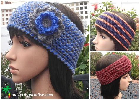 crochet beautiful headbands for your with crochet headbands for your crochet and knit