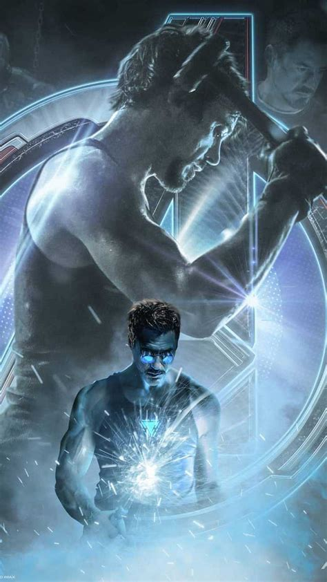 tony stark iron man avengers endgame iphone wallpaper
