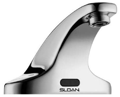 Sloan Sensor Faucets by Sloan Sensor Activated Battery Powered Electronic Faucet