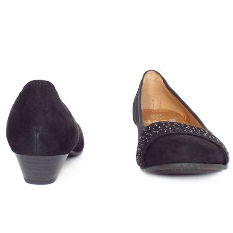wide fit shoes stamford black suede s smart casual wide fit
