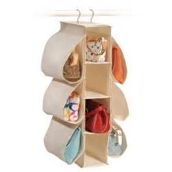 canvas hanging purse organizer in purse organizers