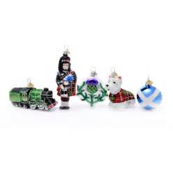 little scotland christmas decoration by bombki