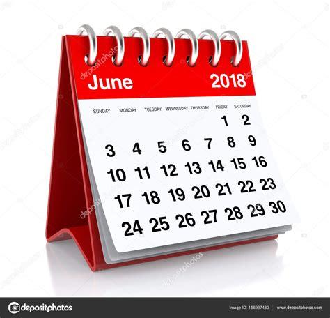 Calendrier 2018 Juin Calendrier Juin 2018 Photo 156937480