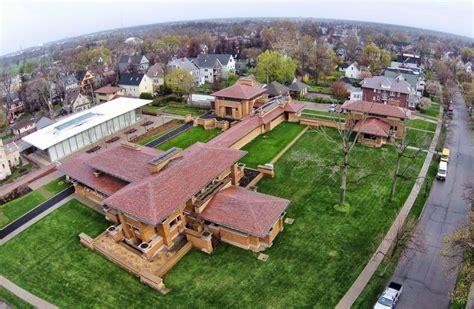 darwin martin house frank lloyd wright darwin martin house aerial photos