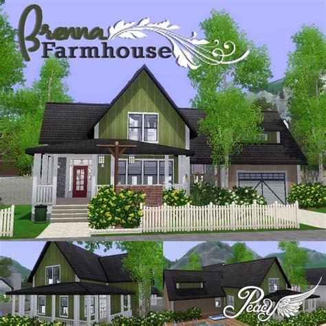 farmhouse blog my sims 3 blog brenna farmhouse by peacemaker ic