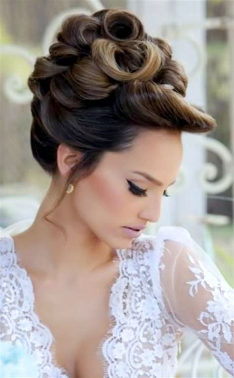 high wedding updos hair high bun hairstyles wedding hair make up
