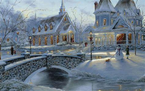 fotos para fondo de pantalla de invierno descargar la imagen en tel 233 fono paisaje invierno casas
