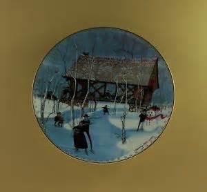 Buckley moss the four seasons quartet winter anna perenna art plate
