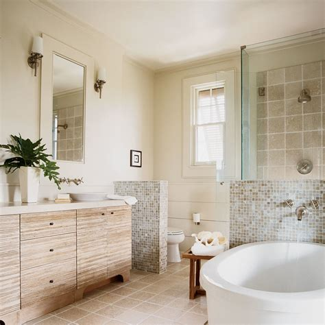 Spa beach master bath beach house bathrooms coastal living