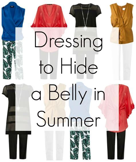 Dressing to Disguise a Belly in Summer   Wardrobe Oxygen