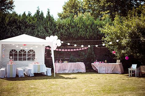 garten geburtstagsparty deko es wird ein m 228 dchen babyparty dekoration mit viel rosa