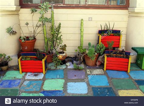 Garden Decoration Free by Mexican Style Garden Decoration Stock Photo