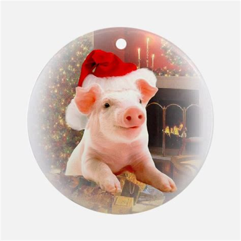 the pig ornament 28 images pig ornament etsy deck the