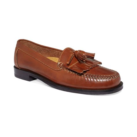 cole han loafers cole haan dwight tassel loafers in brown for saddle