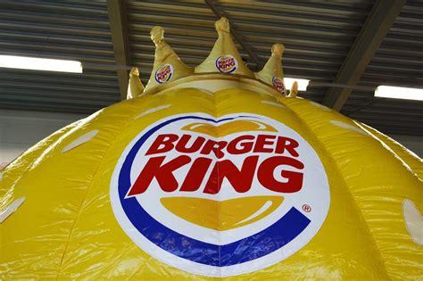 burger king bouncy castle jb inflatables