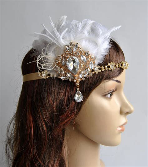 how to make a 1920s hairpiece gold 1920 s gatsby headpiece chamagne gold the great