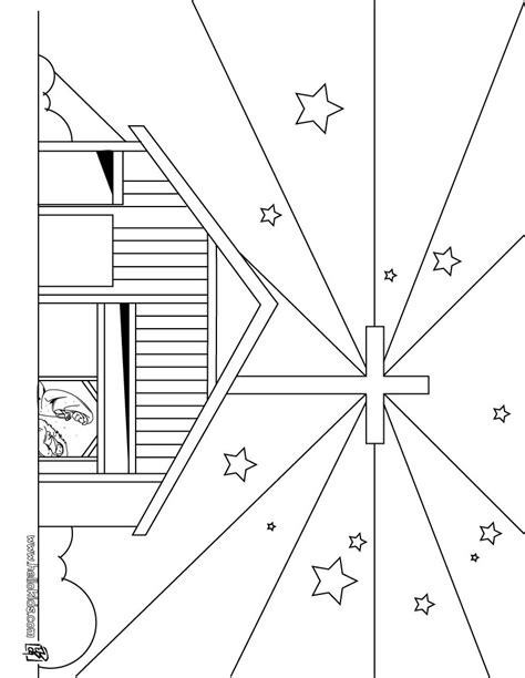 star of bethlehem flower coloring sheets coloring pages