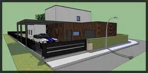 petites vues 3d sketchup maison passive 62