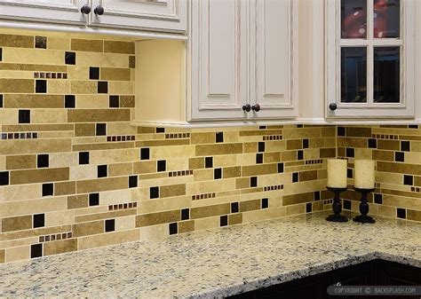 Glass Subway Tiles For Kitchen Backsplash by Travertine Tile Backsplash Photos Amp Ideas