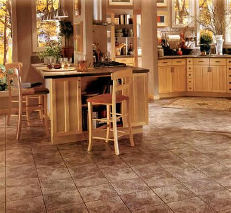 kitchen vinyl flooring ideas vct kitchen flooring ideas studio design gallery