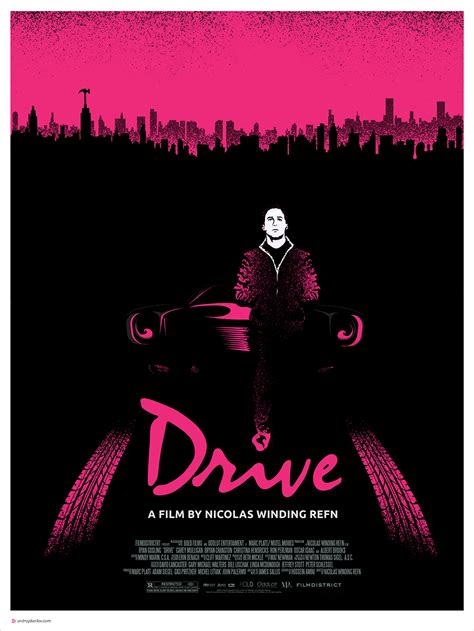 drive poster drive poster 安