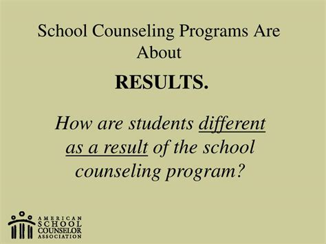 school counseling curriculum ppt school counselors partners in student achievement