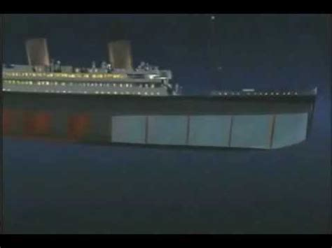 in what year did the titanic sink titanic how did it sink 100 years later