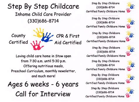 child care flyers templates 92 best daycare images on pinterest daycares nurseries
