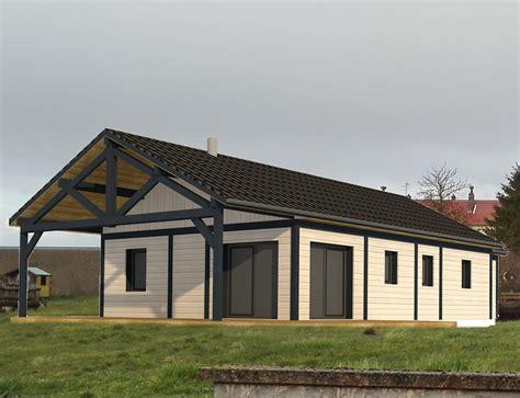 Terrasse Couverte Maison by Maison De Plain Pied Avec Terrasse Couverte Nos Projets