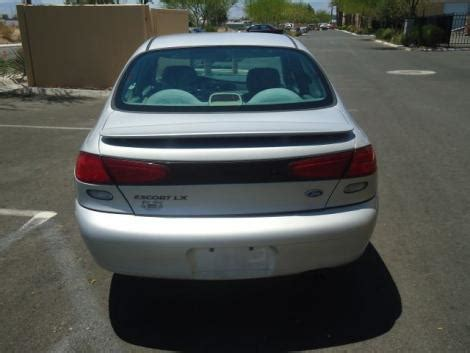 Used 1997 Ford Escort Lx Sedan For Sale In Nv Autopten Com