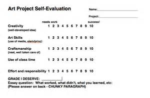 rubrics for evaluation ballou high visual arts