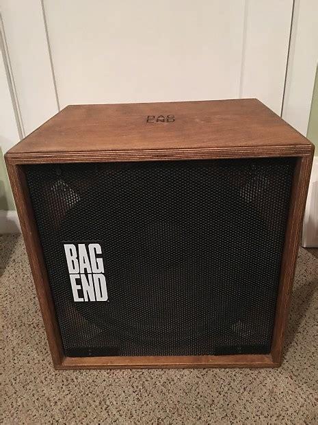 bag end bass cabinet bag end s 15b 1 x 15 birch bass cabinet reverb
