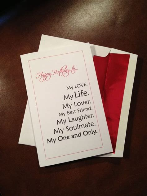 Handmade Birthday Cards For Fiance - best 25 fiance birthday card ideas on