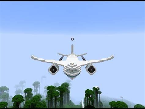 minecraft  luxury private big vip jet passenger airplane