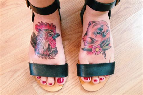 pig n rooster on pinterest rooster tattoo roosters and