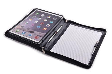 design your own home com portfolio ipad pro case organizer folio with pocket and