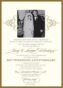 60th wedding anniversary invitation wording sles anniversary 60th anniversary