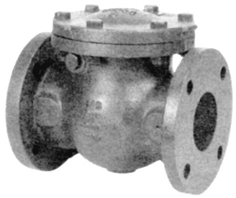 nibco swing check valve nibco f 918 b 2 1 2 quot 125 cast iron check valve flanged
