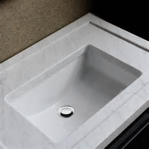 contemporary undermount bathroom sinks highpoint collection ceramic 18x12 inch undermount vanity