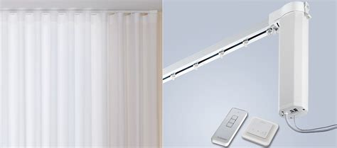 electric curtain track silent gliss 5100r new autoglide electric curtain track